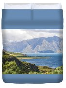 Lake Wakatipi Duvet Cover