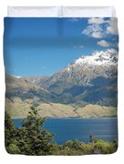 Lake Wanaka New Zealand Iv Duvet Cover