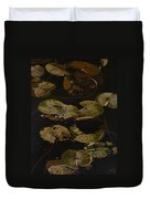 Lake Washington Lily Pad 9 Duvet Cover