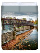 Lake Waterford Fall Waterscape Duvet Cover