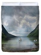 Lake Willoughby  Panorama One Duvet Cover