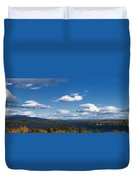 Lake Winnipesaukee New Hampshire In Autumn Duvet Cover