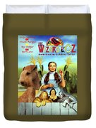 Lakeland Terrier Art Canvas Print - The Wizard Of Oz Movie Poster Duvet Cover