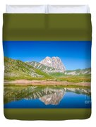 Lakes And Peaks Duvet Cover