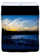 Lakeshore Nights Duvet Cover