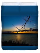 Lakeshore Sunset Duvet Cover