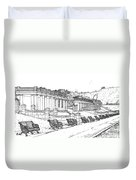 Lakeside. Barry Duvet Cover