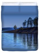 Lakeside-beavers Bend Oklahoma Duvet Cover