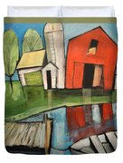 Lakeside Farm Duvet Cover