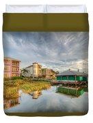 Lakeside Reflections Duvet Cover