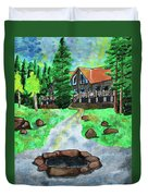 Lakewoods Lodge Duvet Cover