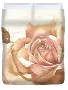 Lalique Rose Duvet Cover