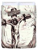 Lamb Of God Duvet Cover