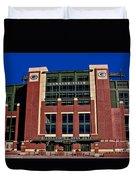 Lambeau Field Green Bay Packers Duvet Cover