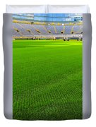 Lambeau Field Hallowed Ground Duvet Cover