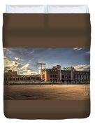 Lambeau Field Duvet Cover
