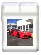 Lamborghini Aventador Spyder Duvet Cover