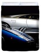 Lamborghini Countach And Lamborghini Diablo Duvet Cover