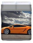 Lamborghini Exotic Car Duvet Cover