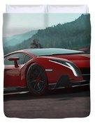 Lamborghini Veneno Duvet Cover