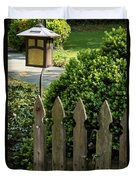 Lamp And Gate Duvet Cover