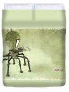 Lampbot Duvet Cover