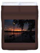 Lamplight And Daybreak  Duvet Cover