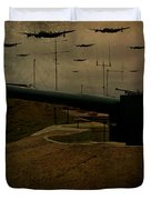 Lancasters Over Newhaven March 30th 1944 Duvet Cover