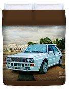 Lancia Delta Hf Integrale Evoluzione Duvet Cover