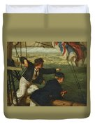 Land Ahoy Duvet Cover
