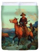 Land Beyond The Law Duvet Cover