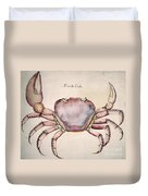 Land Crab Duvet Cover