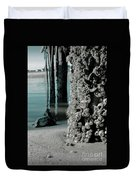 Land Meets Water Nature Photograph Duvet Cover