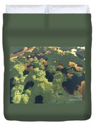 Land Of A Thousand Lakes II Duvet Cover
