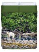 Land Of The Spirit Bear Duvet Cover