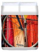 Land Vs Water Sports Duvet Cover