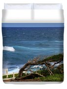 Land Wind And Sea Duvet Cover