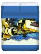 Landed Imperial Shuttle - Pa Duvet Cover