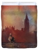 Landing Place- London Duvet Cover
