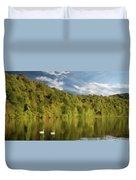 Landingville Lake Pennsylvania Duvet Cover