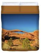 Landscape Arch Sunrise Duvet Cover