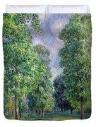 Landscape At Sevres Duvet Cover by Alfred Sisley