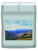Landscape From Virginia Dale Duvet Cover