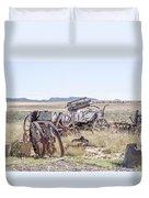 Landscape Galisteo Nm A10i Duvet Cover