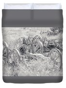 Landscape Galisteo Nm A10t Duvet Cover