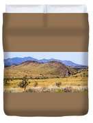 Landscape Galisteo Nm I10s Duvet Cover
