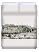 Landscape Galisteo Nm I10v Duvet Cover