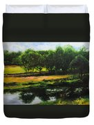 Landscape In North Wales Duvet Cover