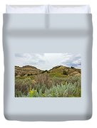 Landscape In Northwest North Dakota  Duvet Cover