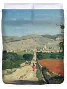Landscape In Provence Duvet Cover